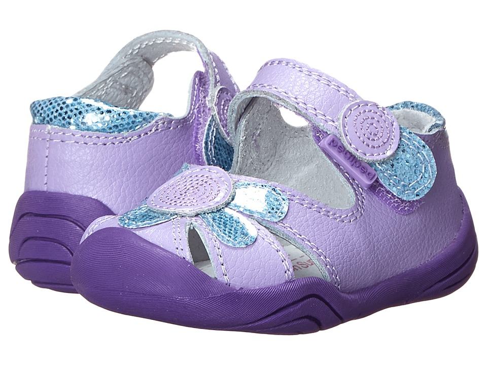 pediped - Daisy Grip 'n' Go (Infant/Toddler) (Lavender) Girl's Shoes