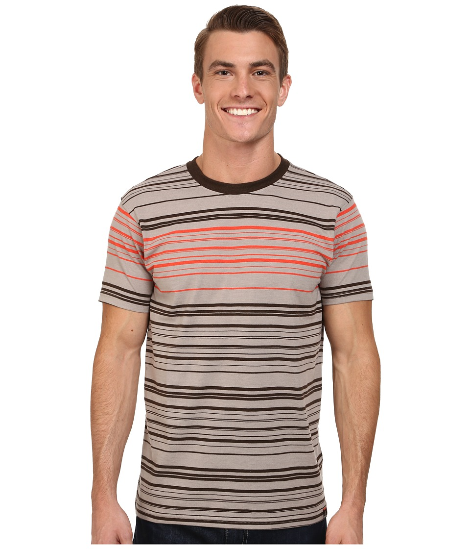 Prana Throttle Crew (Earth Grey) Men