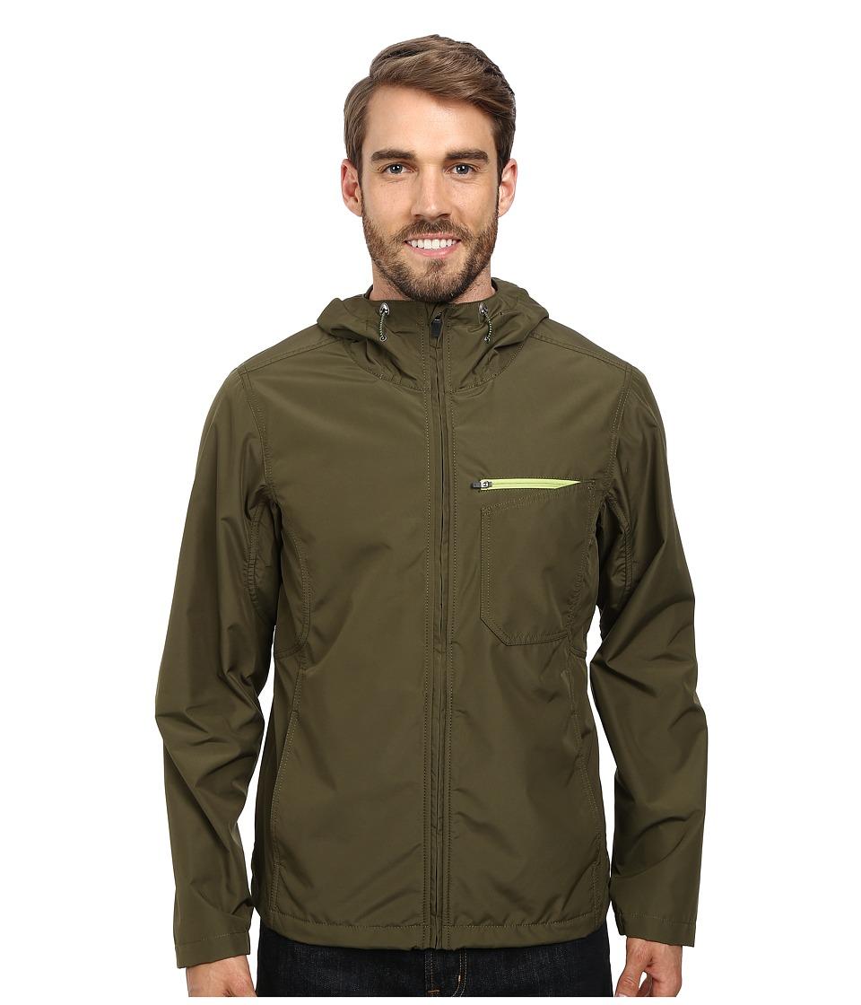 Prana - Winn Jacket (Cargo Green) Men's Coat