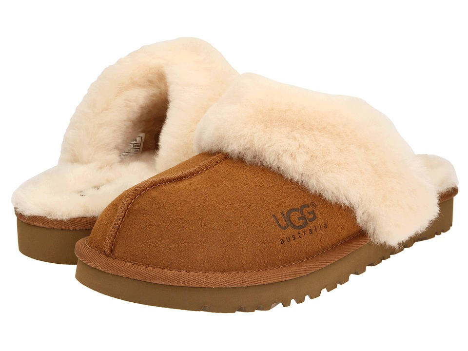 UGG Kids - Cozy (Toddler/Little Kid/Big Kid) (Chestnut) Girls Shoes