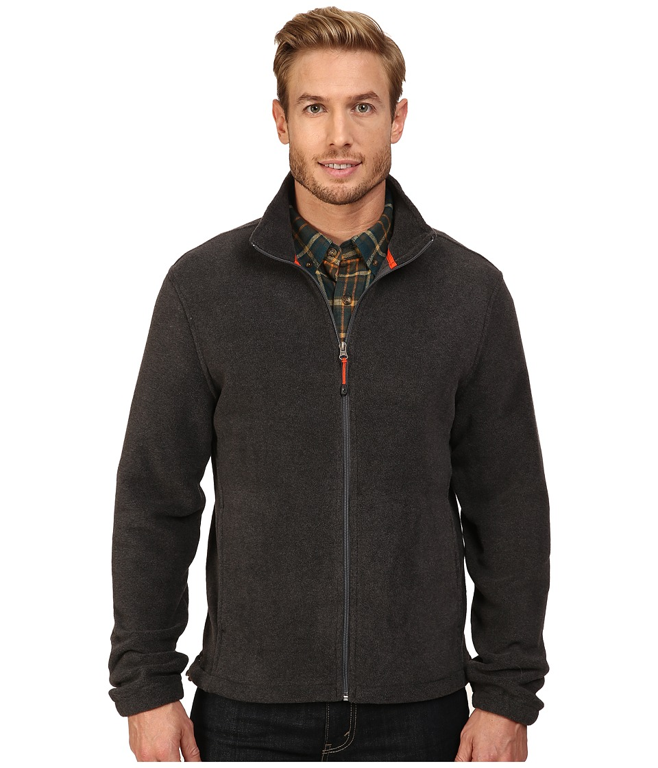 Woolrich - Andes II Fleece Jacket (Charcoal Heather) Men's Coat
