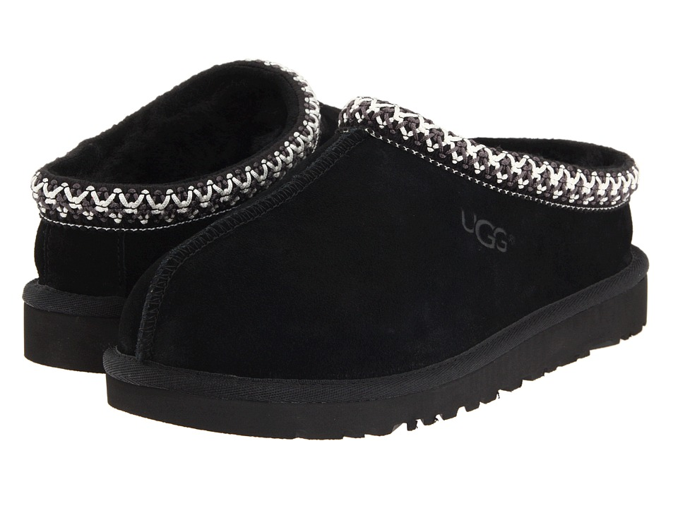 UGG Kids Tasman (Toddler/Little Kid/Big Kid) (Black) Kids Shoes