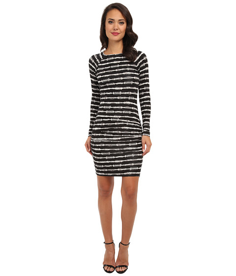 Tart - Althea Dress (Fur Stripe) Women