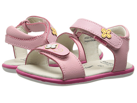pediped - Leana Flex (Toddler/Little Kid) (Pink) Girl's Shoes