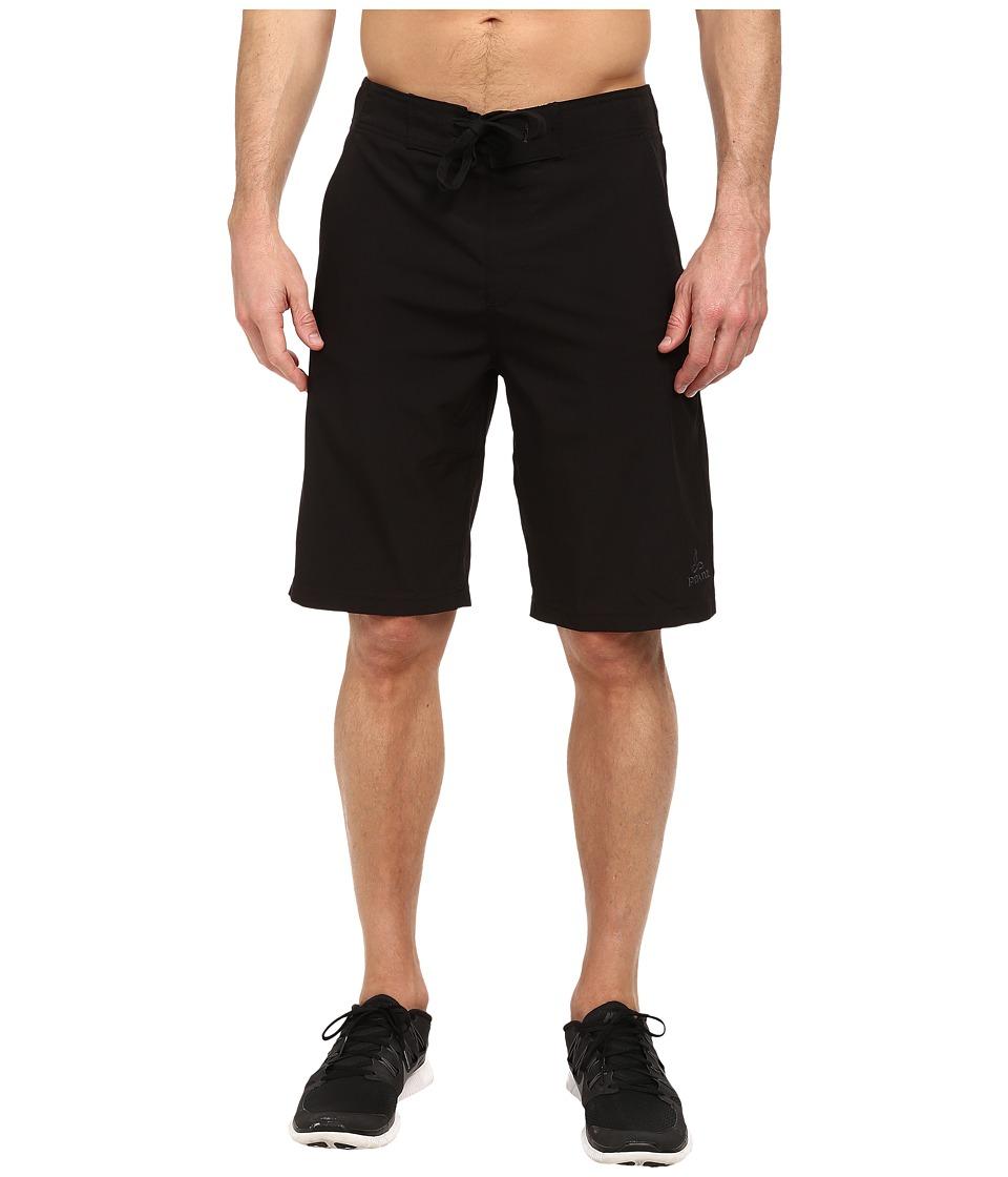 Prana - Basalt Studio Short (Black) Men's Shorts