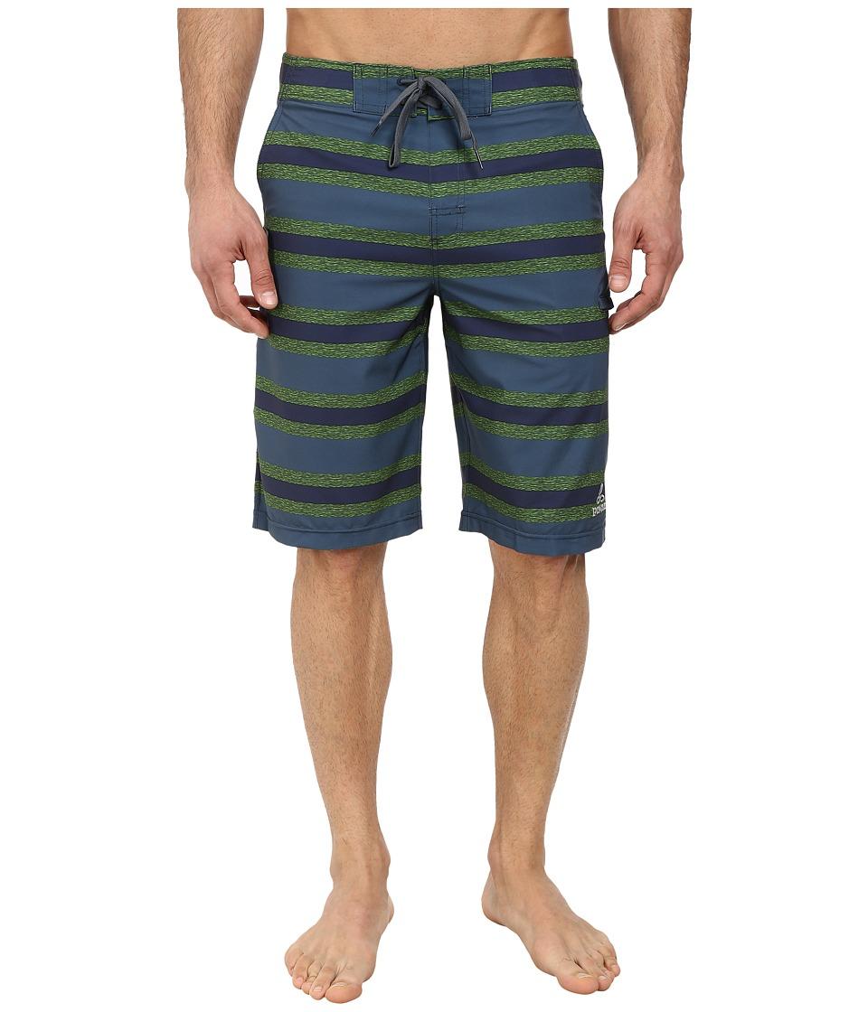 Prana - Basalt Studio Short (Grey Blue) Men's Shorts