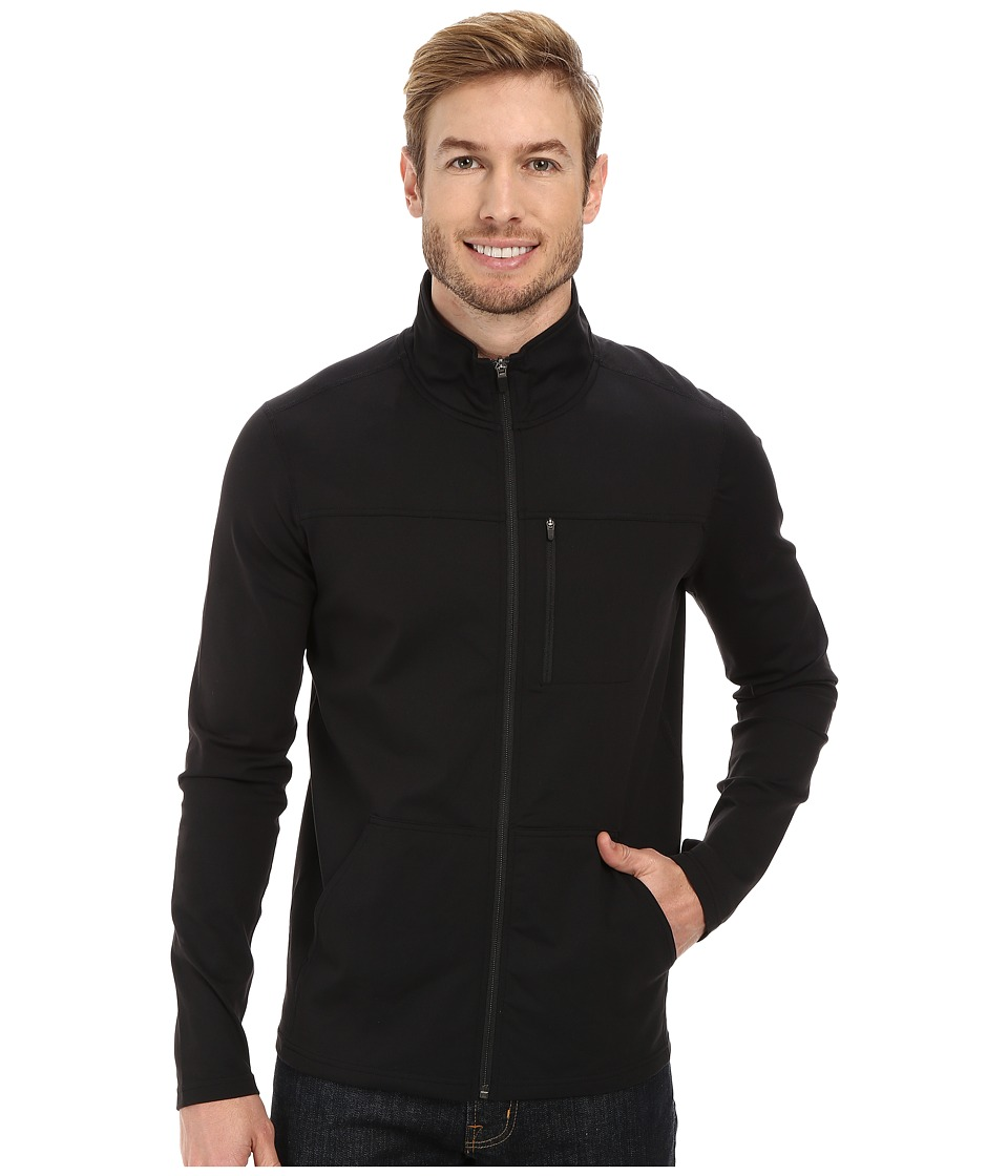 Prana - Variable Full Zip (Black) Men's Jacket