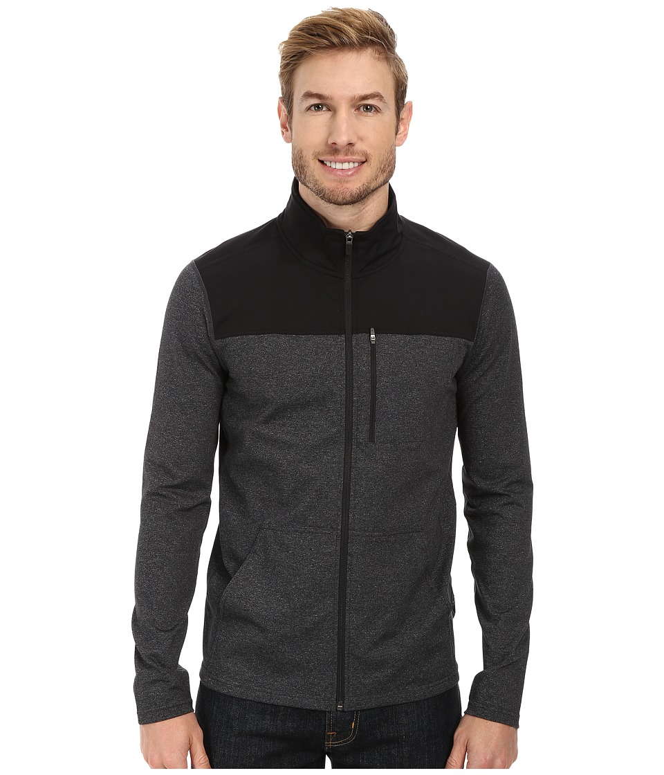 Prana - Variable Full Zip (Charcoal Heather) Men's Jacket