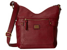 b.o.c. Prentiss Tulip Crossbody (Burgundy)