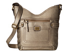 b.o.c. Prentiss Tulip Crossbody (Dull Gold)