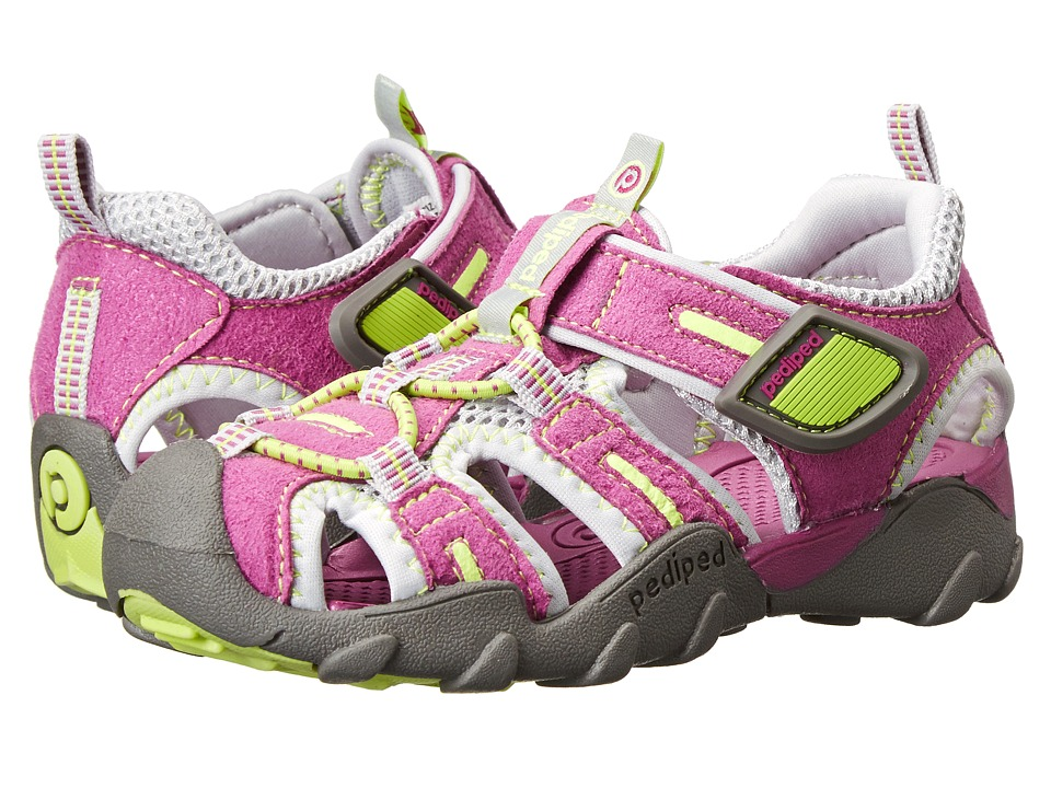 pediped - Canyon Flex (Toddler/Little Kid) (Dewberry) Girl's Shoes