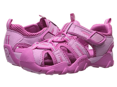 pediped - Canyon Flex (Toddler/Little Kid) (Pink) Girl's Shoes