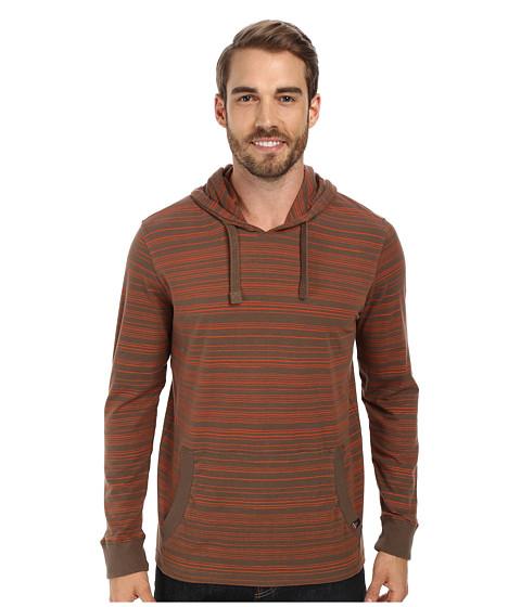 Prana - Setu Hoodie (Mud) Men's Long Sleeve Pullover