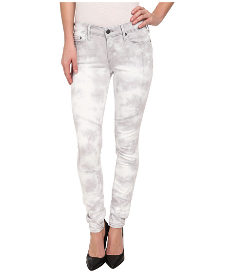 True Religion - Halle Moto Mid Rise Skinny in Something Unusual (Something Unusual) Women