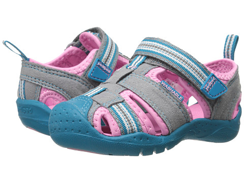 pediped - Sahara Flex (Toddler/Little Kid) (Vapor) Girl's Shoes
