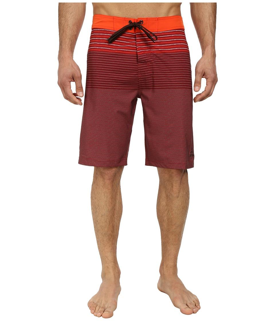 Prana - Sediment Short (Electric Orange) Men's Swimwear