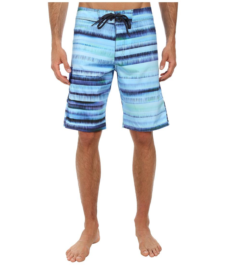 Prana - Seaton Short (Blue) Men's Swimwear