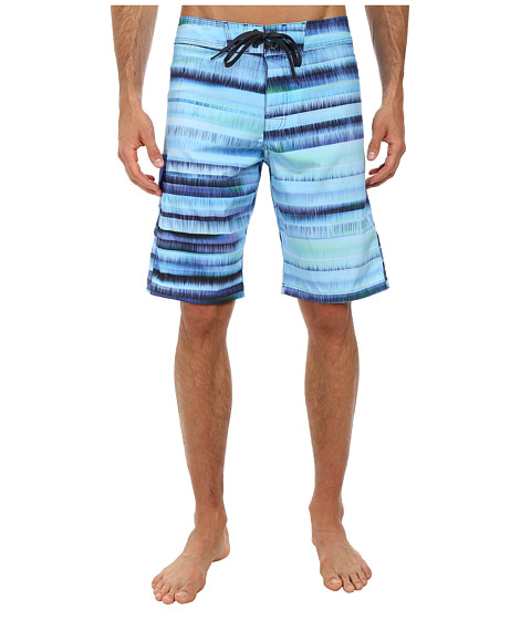 Prana - Seaton Short (Blue) Men's Swimwear