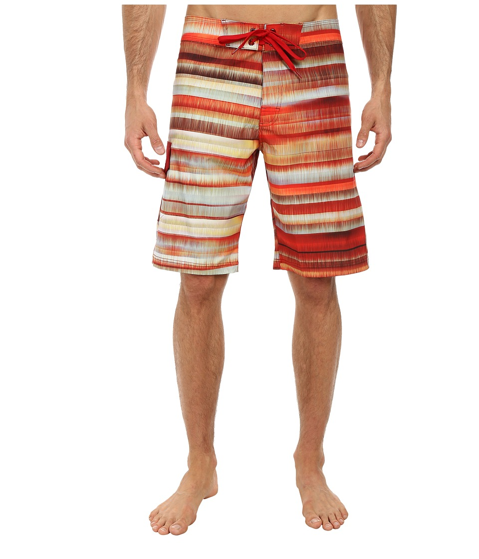 Prana - Seaton Short (Crimson) Men's Swimwear