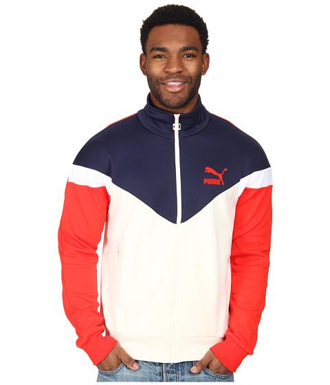 PUMA - MCS Track Jacket (Whisper White) Men's Jacket