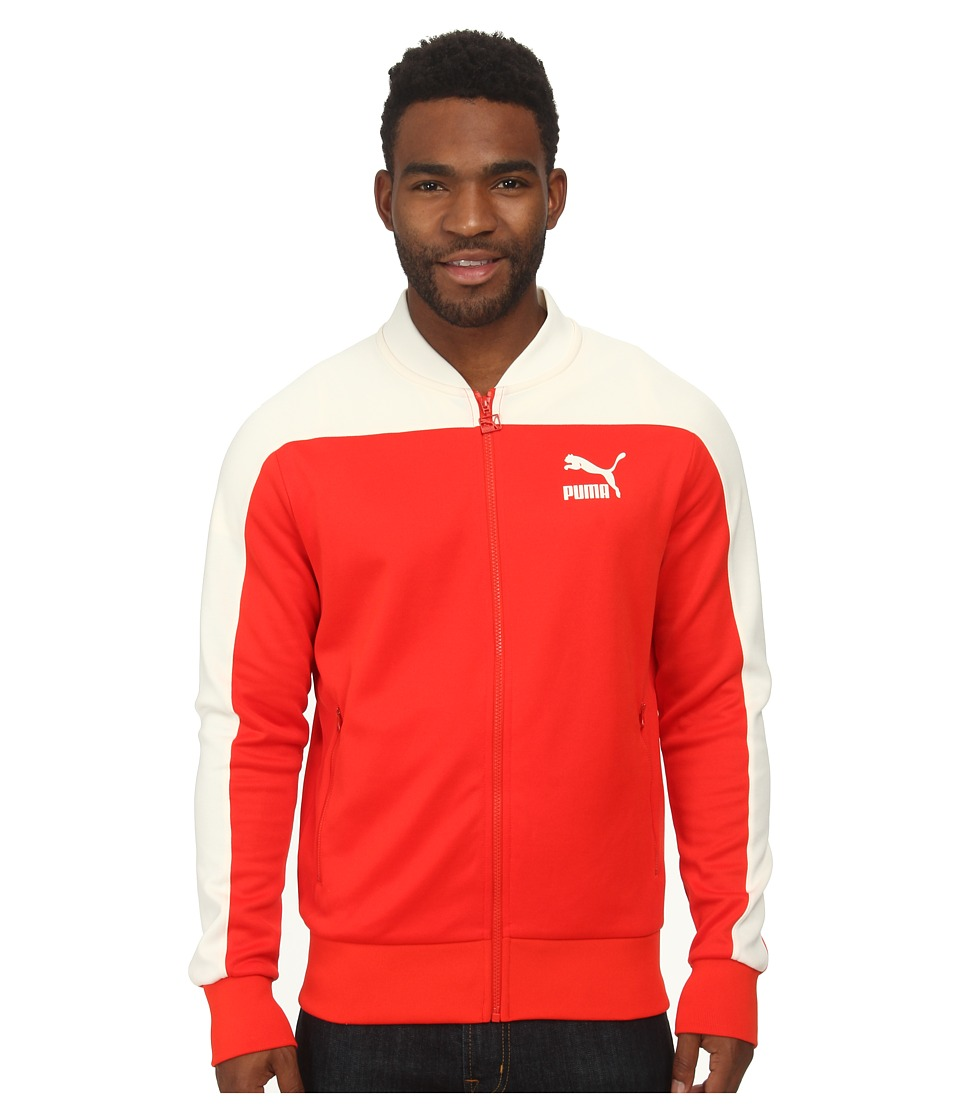 PUMA - Pierre Track Jacket (Fiery Red) Men's Jacket