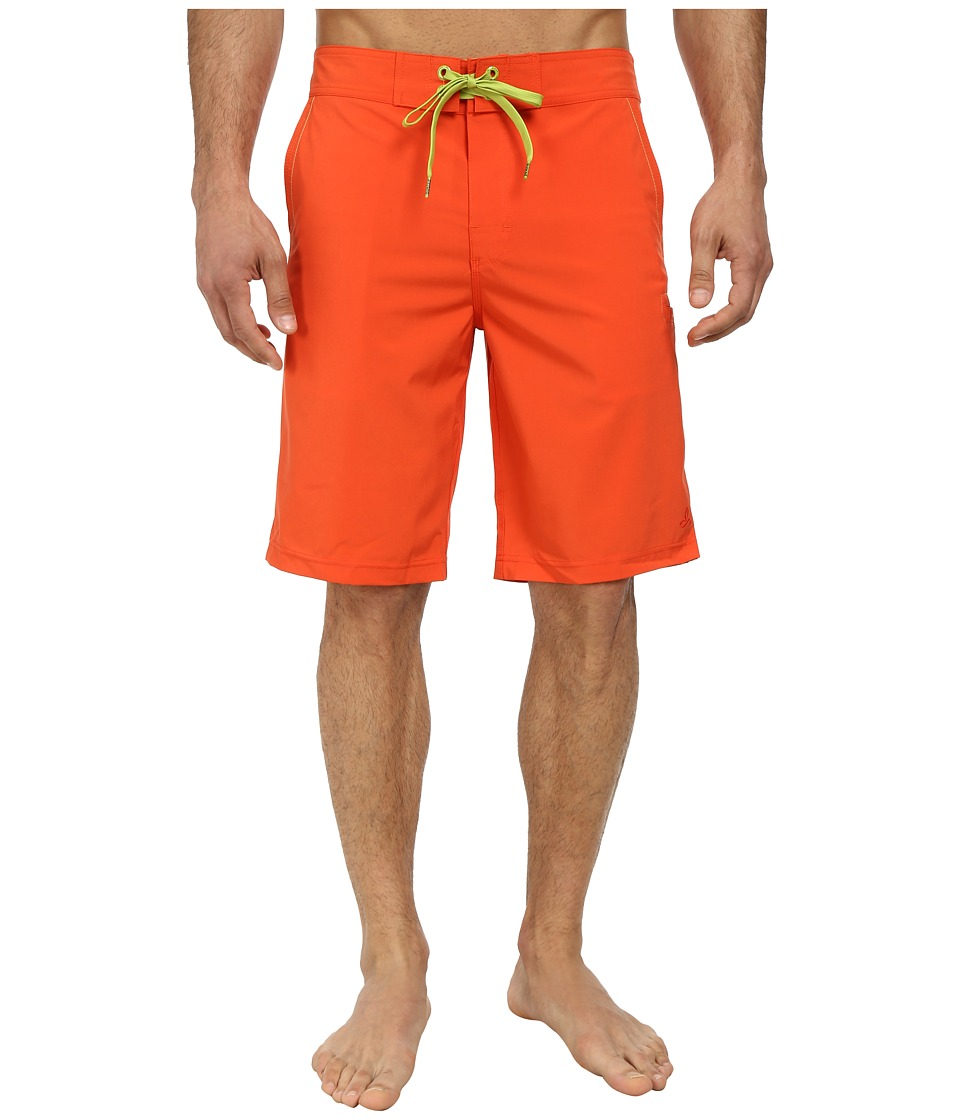 Prana - Beacon Short (Electric Orange) Men's Swimwear