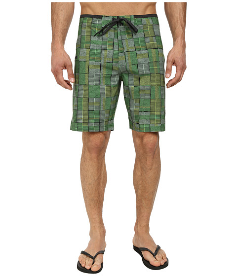 Prana - Catalyst Short (Green) Men's Swimwear