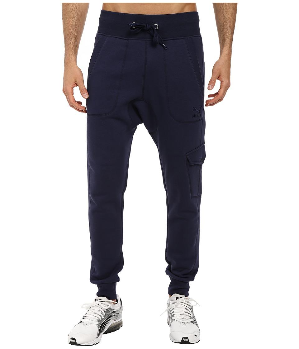PUMA - Cargo Sweat Pants (Peacoat) Men