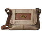 b.o.c. Richton Mini Top Zip Crossbody (Dull Gold)