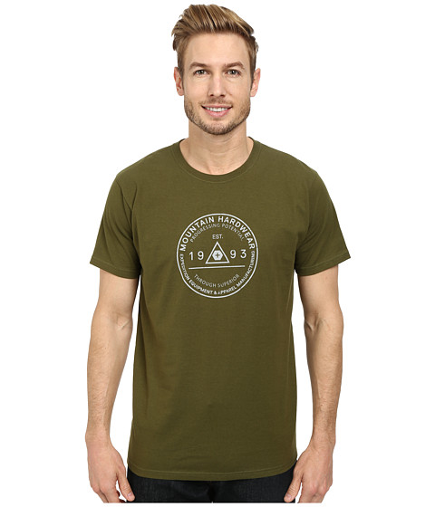 Mountain Hardwear - Elevation Marker S/S Tee (Utility Green) Men