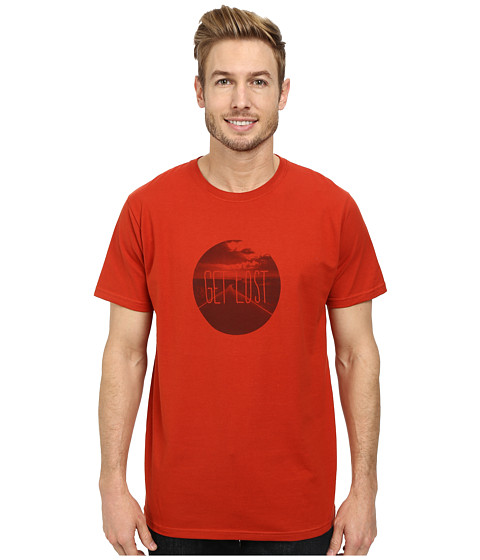 Mountain Hardwear - Get Lost S/S Tee (Flame) Men