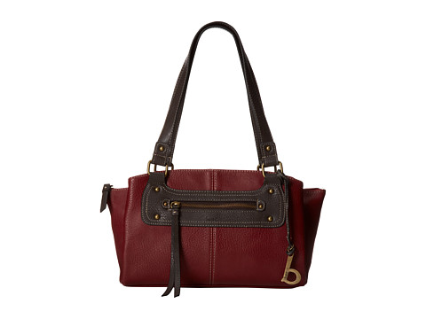 b.o.c. Heidelberg Satchel (Burgundy) Satchel Handbags