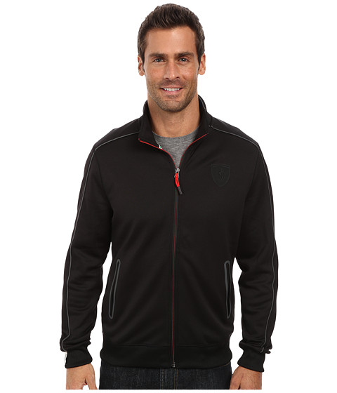 PUMA - Ferrari(R) Track Jacket (Black 2) Men's Jacket