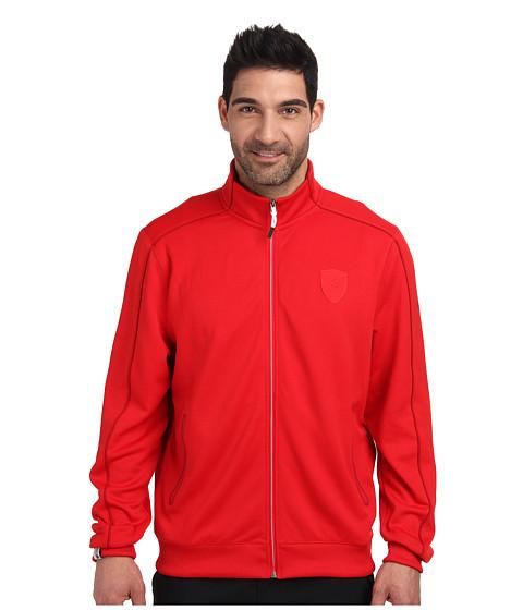 PUMA - Ferrari(R) Track Jacket (Rosso Corsa 2) Men's Jacket