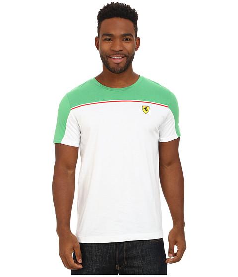 PUMA - Scuderia Ferrari Tee (White) Men's T Shirt