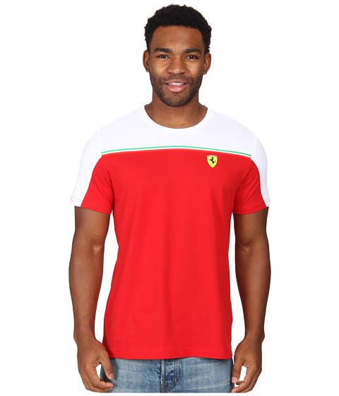 PUMA - Scuderia Ferrari Tee (Rosso Corsa) Men
