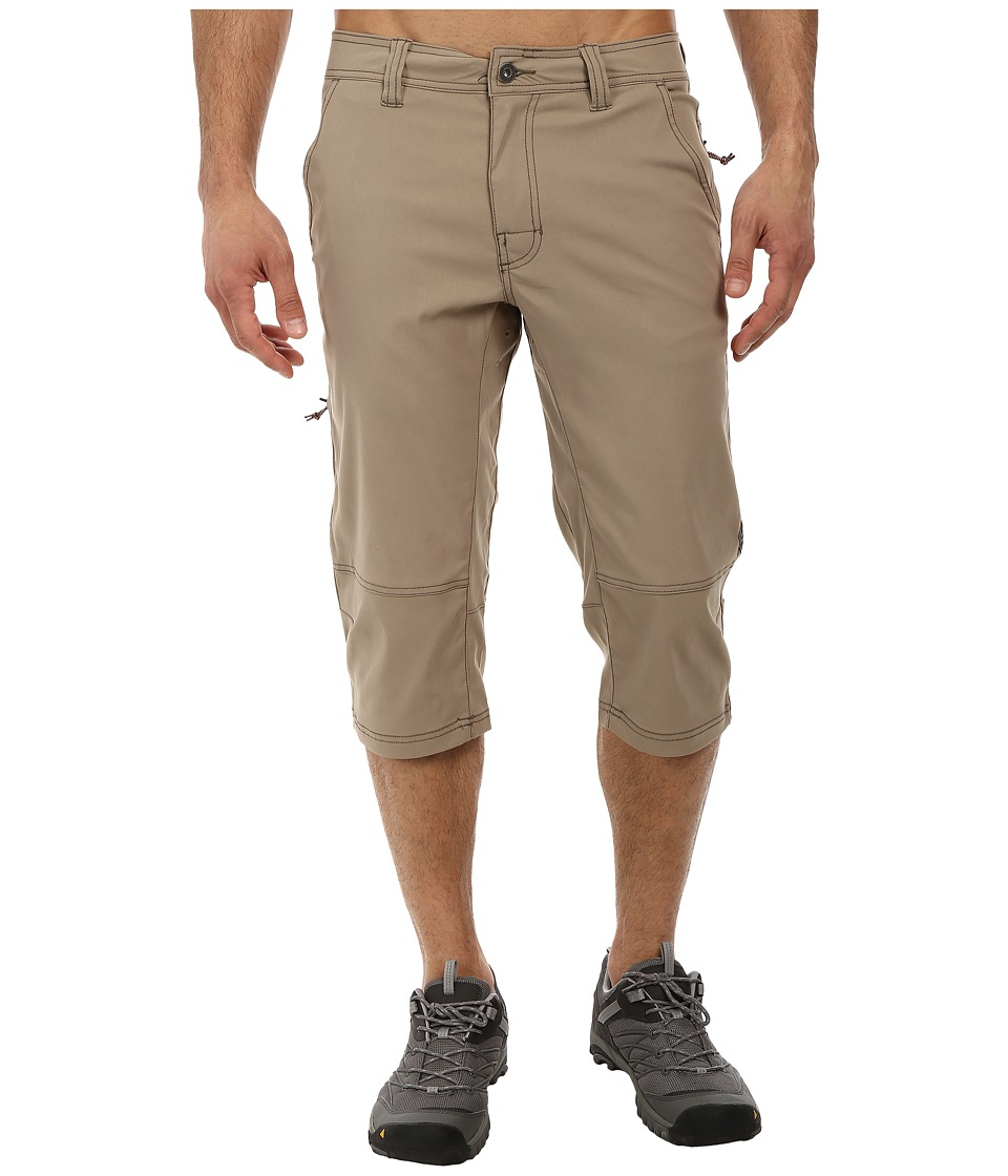 Prana - Menace Knicker (Dark Khaki) Men's Shorts