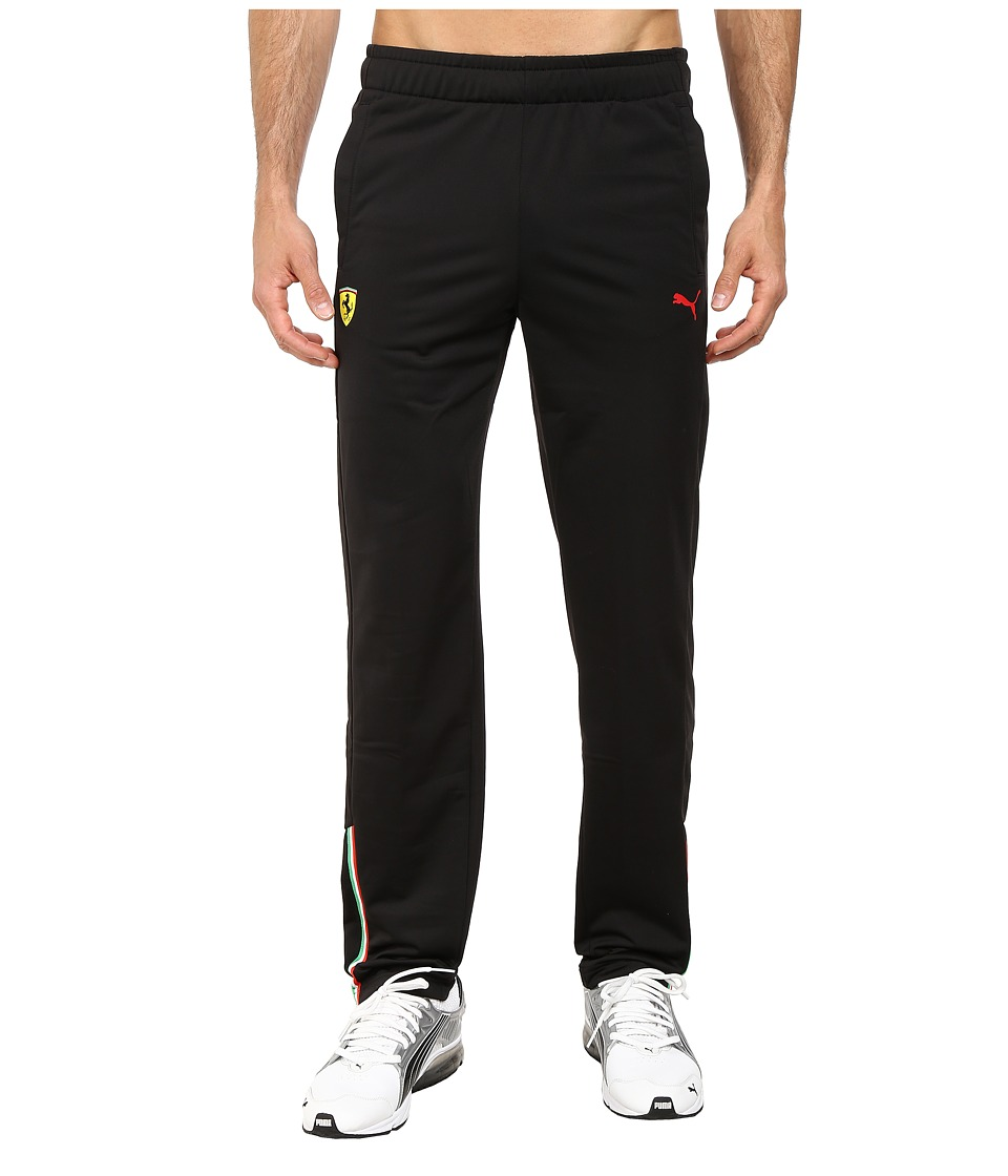 PUMA - Scuderia Ferrari Track Pant (Black/Open End) Men's Casual Pants