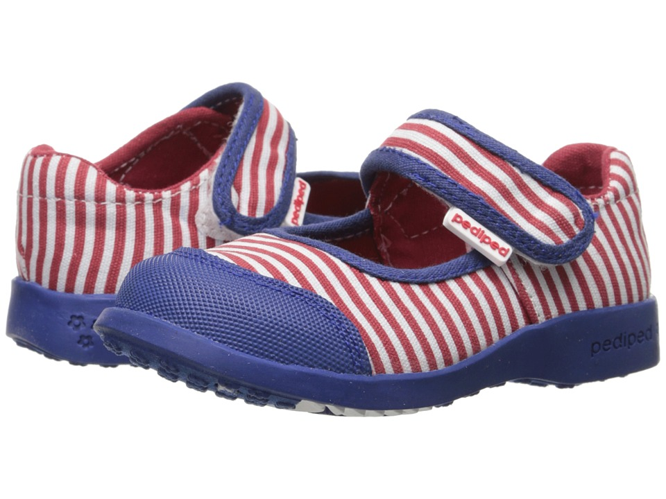 pediped - Bree Flex (Toddler/Little Kid) (Nautical) Girl's Shoes