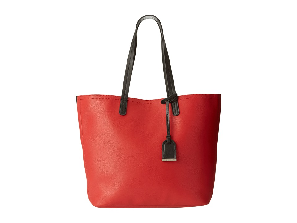 Kenneth Cole Reaction - Clean Slate Tote (Chili/Black) Tote Handbags