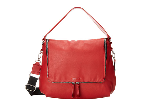 Kenneth Cole Reaction - Avery Hobo (Chili Red Buff) Hobo Handbags