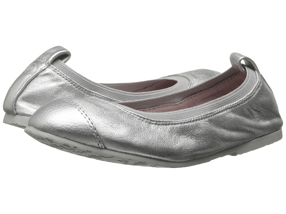 pediped - Angie Flex (Little Kid/Big Kid) (Silver) Girl's Shoes