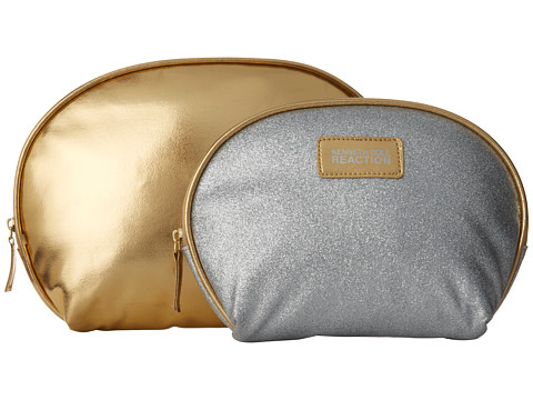 Kenneth Cole Reaction - Two-Piece Dome Set (Metallic Gold Paint) Cosmetic Case