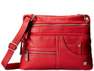 b.o.c. Holly Springs Crossbody (Red)