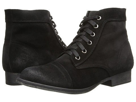 Zigi - Fleet (Black Suede) Women's Lace-up Boots