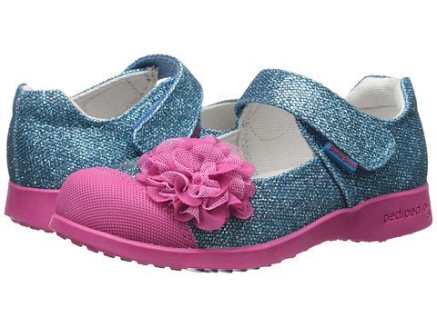 pediped - Estella Flex (Toddler/Little Kid) (Sky Blue) Girls Shoes