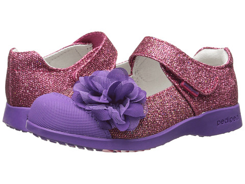 pediped - Estella Flex (Toddler/Little Kid) (Fuchsia) Girls Shoes