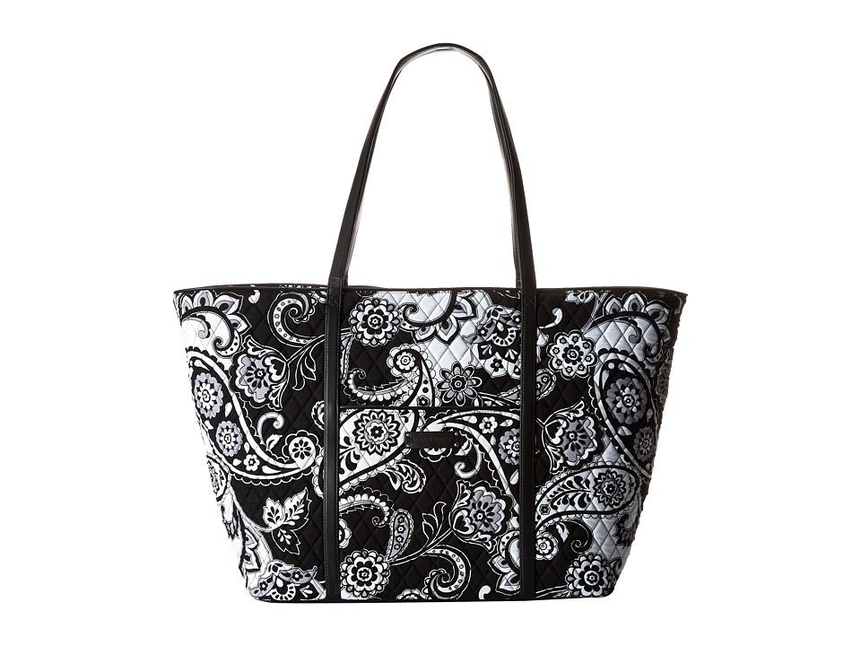 Vera Bradley Luggage - Trimmed Vera Traveler (Midnight Paisley w/ Black Trim) Luggage