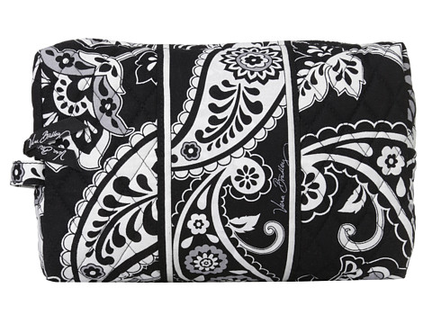 Vera Bradley Luggage - Large Cosmetic (Midnight Paisley) Cosmetic Case