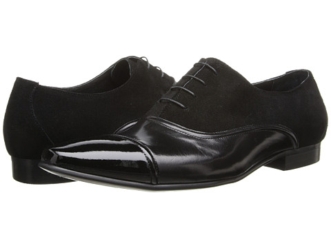Dune London - Radical (Black Leather) Men's Shoes